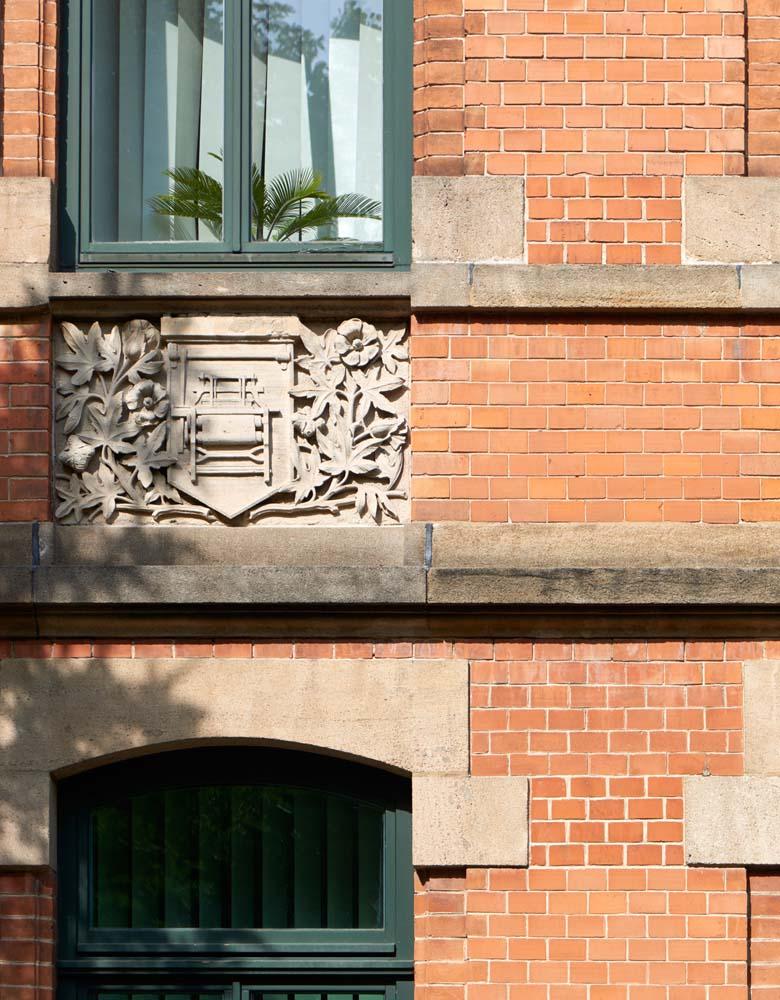 Sanierung einer denkmalgeschützten Fassade, 2009, Polizei Kaiserstraße