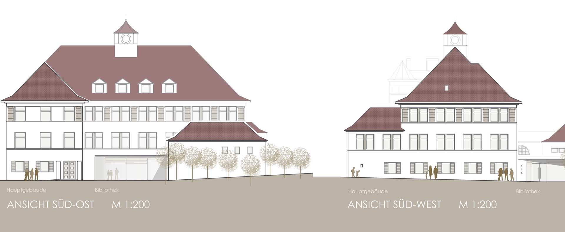 Wettbewerb Schillerschule Eningen unter der Achalm, 2017, 1. Preis