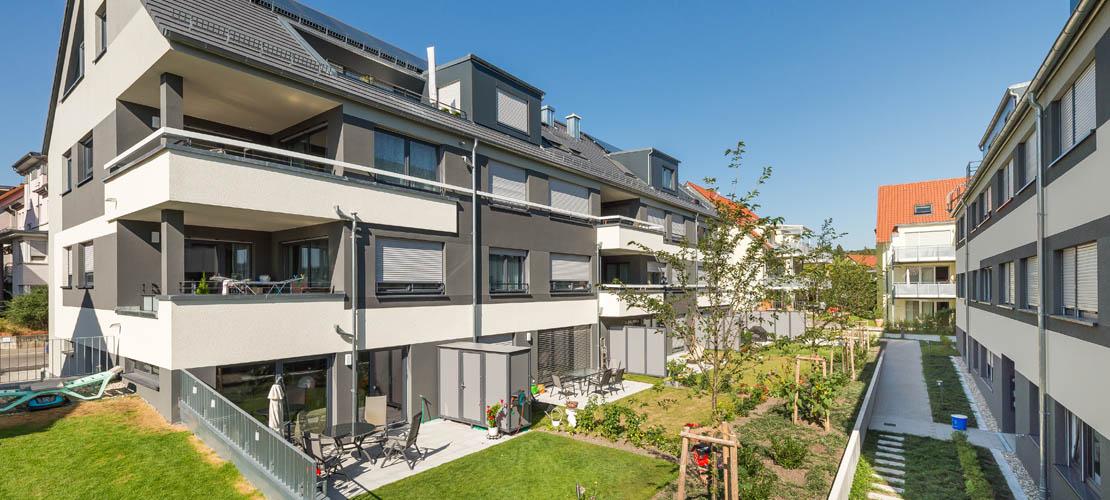 Neubau von 2-Wohngebäude in gewachsener Struktur in Böblingen