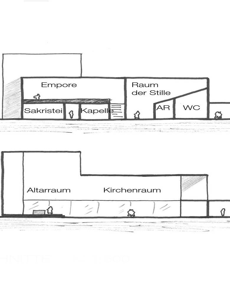 Neubau Kirchengebäude Balingen-Frommern; Wettbewerb 2011