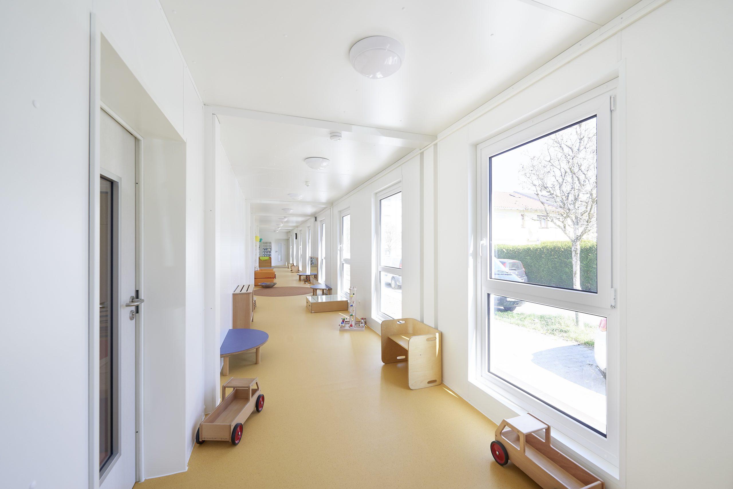Neubau 3-gruppiger Kindergarten in Reutlingen