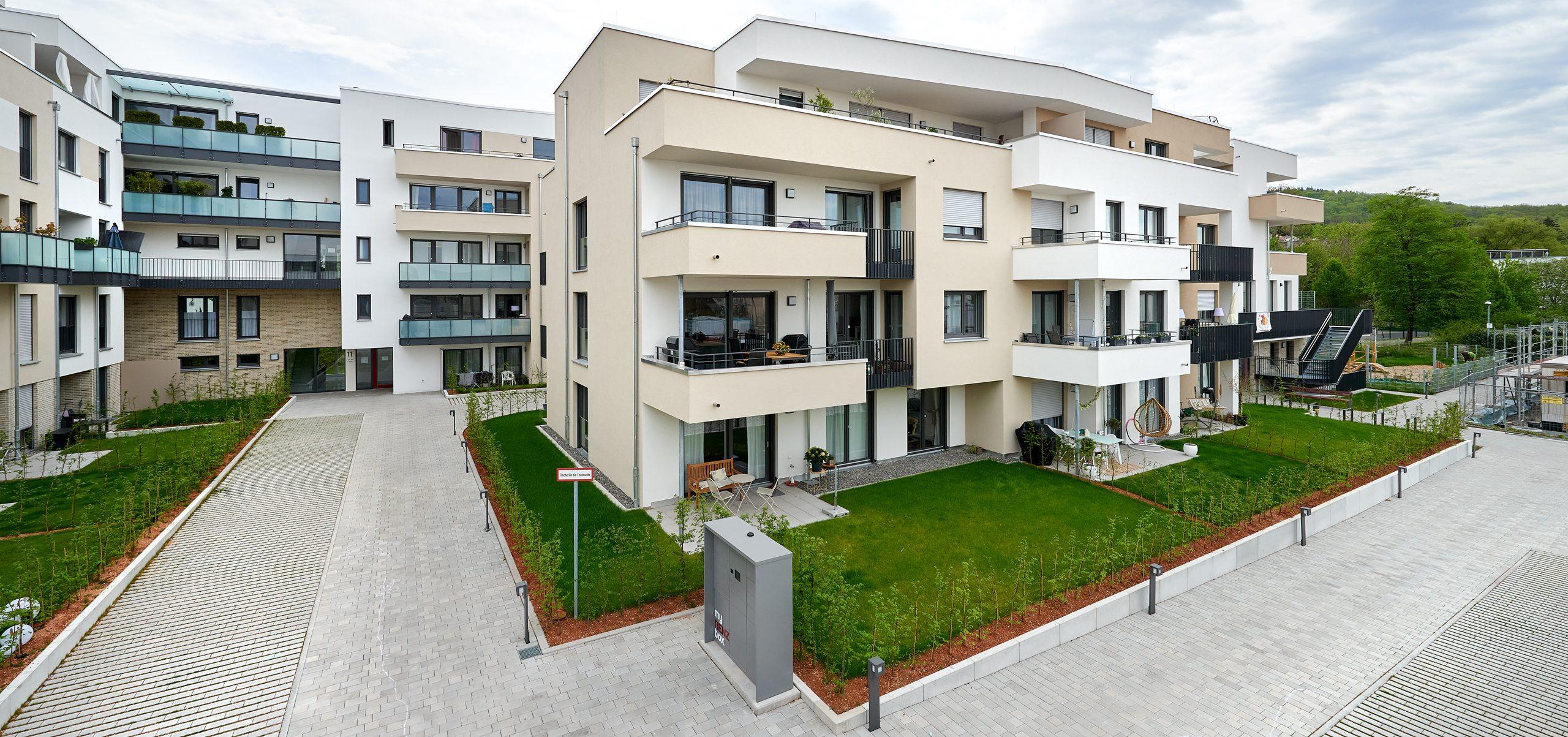 Wohnbebauung City Garden Reutlingen
